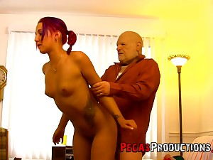 It seems slender redhead with small tits Zoe Zebra can ride unearth all day long