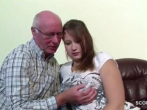 German 18yr aged Mini Seduce back Fuck away from aged Grandpa