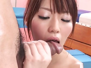 Cute Together with Slim Asian Gymnast Gets Oiled Up Together with Fucked