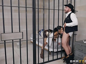 after a blowjob pretty Lela Star can't wait with regard to jump on a hard cock