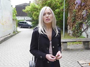 Sextractive blondie Angelika Enhance gets a nip be incumbent on cum on eradicate affect first date