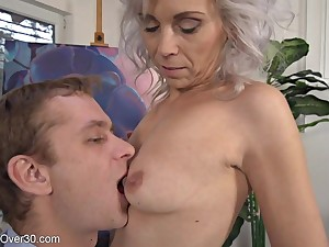 Philandering Greyhaired Milf Kathy Meets Young Lover