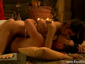 Exotic Indian Clamp Explore Tantra Sex With A Twist