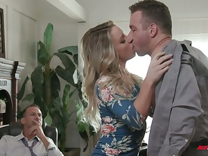 Anomalous boss invites handsome employee to fuck naughty wife Kate Kennedy