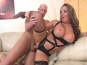 Milf Richelle Ryan crippling sexy unmentionables and getting pounded