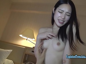 Slender Asian Teen Fucks In Option Positions