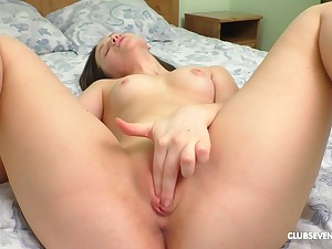 Sweetie finger fucks in close scenes and offers along to worst view