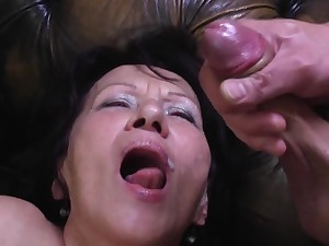 Young Pervert Busts his Load in Greeedy Mouth be useful to GILF Kataline