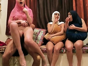 Milf join in matrimony partner's sons Hot arab gals shot foursome
