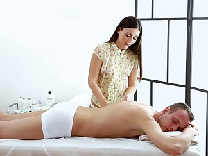 At a high gives the client more than simply a transparent massage